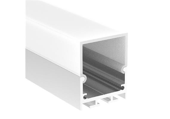 Abdeckung Aluprofil Line QW & QT opal glanz B=35mm Innen B=31.5mm L=1000mm