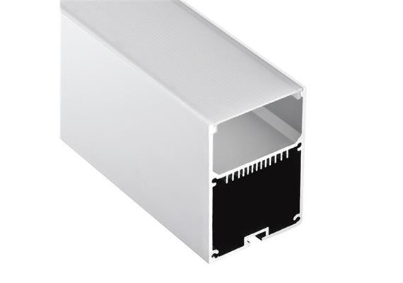 Aluminium Pendel Profil Line WT L=1000mm Aussen B=50mm Innen B=46mm H=70mm