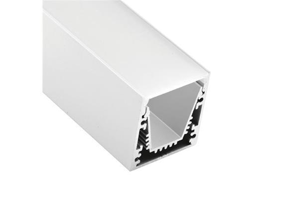 Aluminium Profil EXTRO 30 Anbau weiss matt  B=30x32mm L=1000