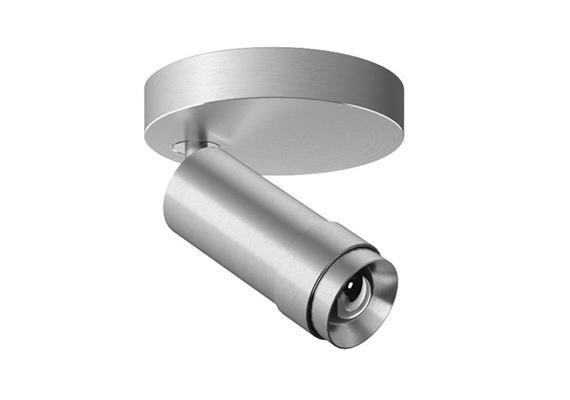 Anbauelement Vertico LED 14W 3000°K alu 230V/350mA CRI95 1260lm / H=143 D=50 / IP20