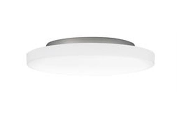 Anbauleuchte PUNTO LED 21W Kunstglas opal 230V/CRI < 80 / 3000°K / 2650lm /D:420mm/ IP34
