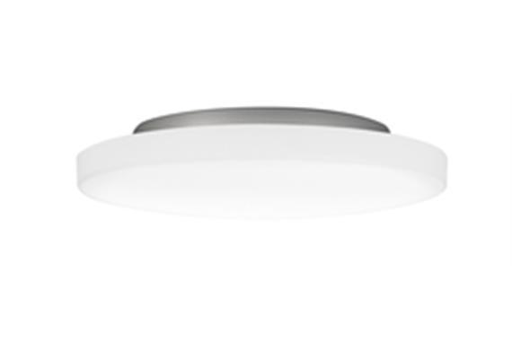 Anbauleuchte PUNTO LED 22W Kunstglas opal 230V/CRI < 80 / 2700°K / 2900lm / D:420Imm/IP34