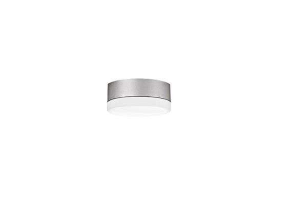 Anbauleuchte PUNTO LED 4W Kunstglas opal grau 230V/2700°K 490lm / D:120mm / IP44