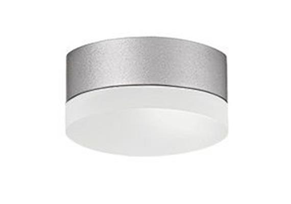 Anbauleuchte PUNTO LED 4W Kunstglas opal grau DALI 230V/2700°K 490lm / D:120mm / IP44