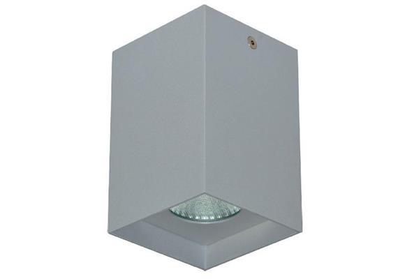 Anbaustrahler Cubbo LED 12W 2700°K weiss matt 240V 920Lm CRI 90 B=80x80 H=105 IP20