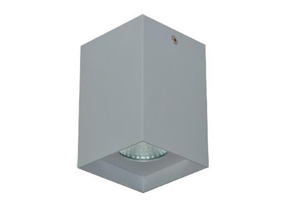 Anbaustrahler Cubbo LED 12W 3000°K weiss matt 240V/500mA 960Lm CRI 90 B=80x80 H=105 IP20