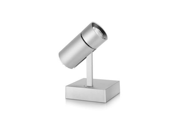 Anbaustrahler Spyke LED dim.1x21W 3000°K grau H=189 L=130 1450lm IP20