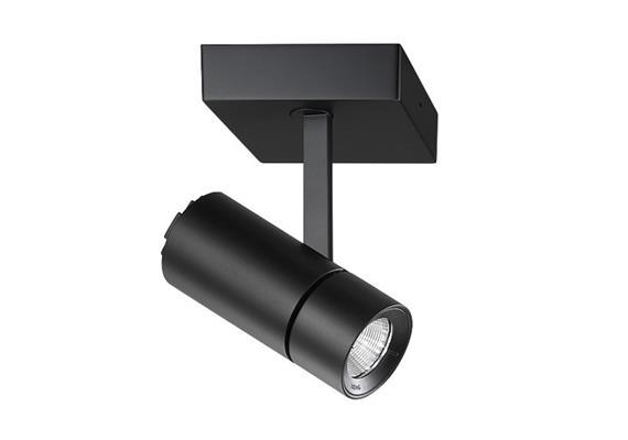 Anbaustrahler Spyke LED dim. 1x21W 3000°K schwarz H=189 L=130 1450lm IP20