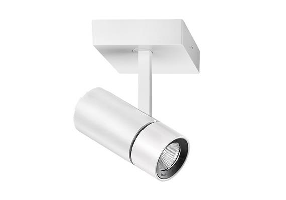 Anbaustrahler Spyke LED dim.1x21W 3000°K weiss H=189 L=130 1450lm IP20