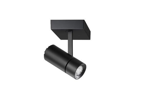 Anbaustrahler Spyke LED dim. 27W 3000°K schwarz H=189 L=130 2900lm IP20