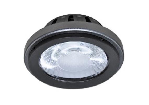 AR111 LED Modul 15W/340mA 2700°K 38° silbergrau 38V/DC lm1050 d=111mm H=49mm