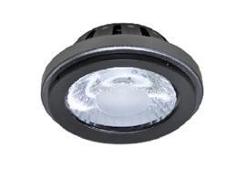 AR111 LED Modul 15W/350mA 2700°K 24° silbergrau 38V/DC lm1050 d=110mm ET=55mm