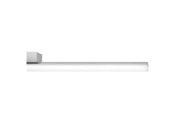 Aroa Anbauleuchte LED 18W 2700K Opal chrom poliert DALI 230V 2220lm L=1200 H=63 B=39 IP20