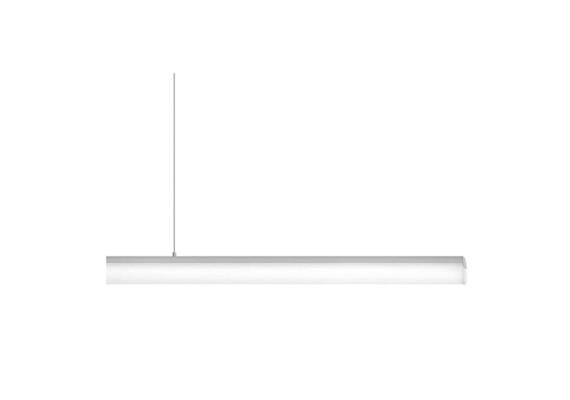 Aroa Pendelleuchte 23W 3000°K Alu/Opal on/off 230V/ LED/ 3000K / 3000lm / IP20