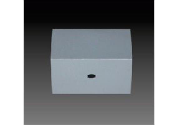 Aufbaugehäuse eckig nickel 82x82mm h=40mm für M10x1