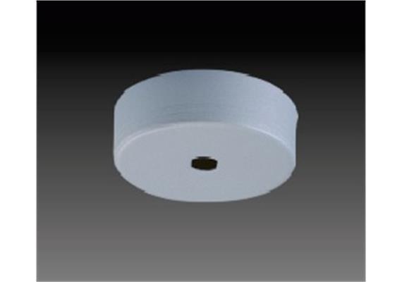 Aufbaugehäuse rund d=60 nickel satiniert d=60mm h=23mm für M10x1