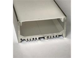 Aufbauprofil Cool 43 für LED alu eloxiert  B=47.5mm H=23.8mm L=4000mm