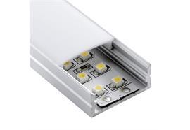 Aufbauprofil Profil EXTRO W für LED alu eloxiert H=10.5mm B=23.5mm L=2000mm