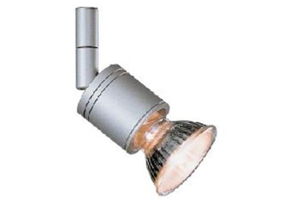 Aufbaustrahler Cano silbergrau 5W mit Glas weiss 230V/ GU10 35-50W / für M10x1