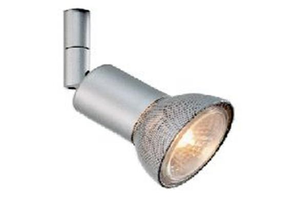 Aufbaustrahler Conos HV 50W nickel sat.  230V/ GU10 35-50W / für M10x1