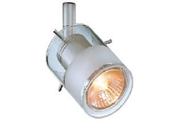 Aufbaustrahler Focus HV 50W nickel sat.  230V/ GU10 35-50W / für M10x1