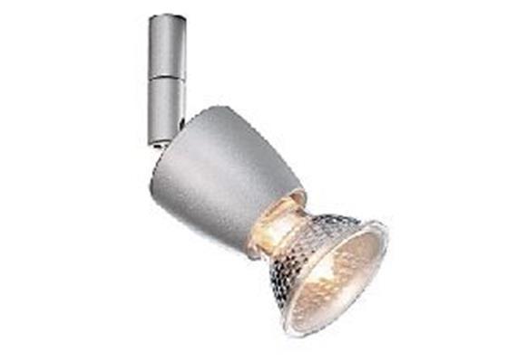 Aufbaustrahler Zeno HV 50W nickel sat.  230V/ GU10 35-50W / für M10x1