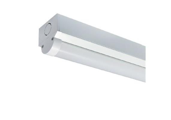 Balkenleuchte L=1200 LED 26W mit Not 3h weiss opal  240V/4000°K 3230lm B=58 H=55mm IP20