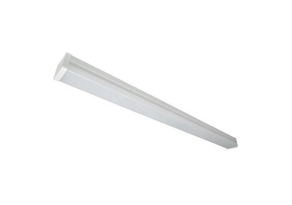 Balkenleuchte L=1200 LED 40W 3000°K Dim weiss opal 230V 3600lm CRI80 / B=80 H=65mm IP20
