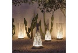 Boden-Stehleuchte Outdoor Dont ` Touch LED weiss 240V/29W 3000K 2600lm D=42 H=108cm IP67