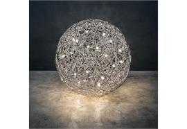 Bodenleuchte FIL DE FER LED Outdoor 100cm 230V/ inkl. 20 LED-Leuchtmittel 12V G4 2700°K