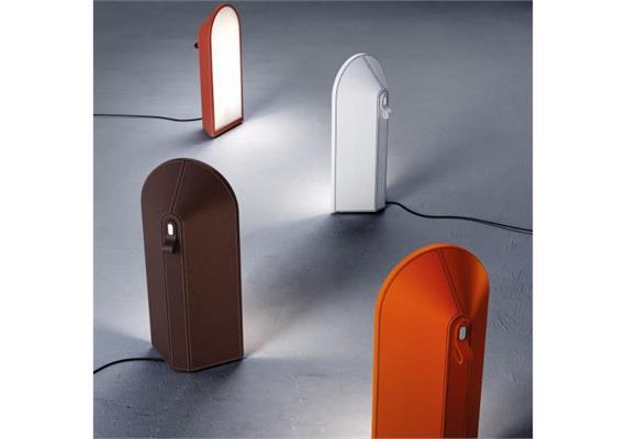 Bodenleuchte Odeon orange inkl. 1x33W/E27 30x64x13.5+500 IP20