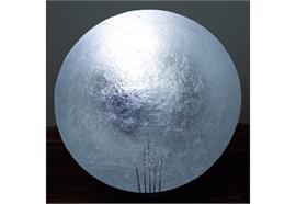 Bodenleuchte Tekno Moon LED silber 2700°K 230V 5W 550lm CRI 80