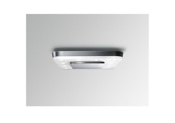 Decken-Anbauleuchte Square LED 18W Sensor alu grau  230V/18W LED/3400K