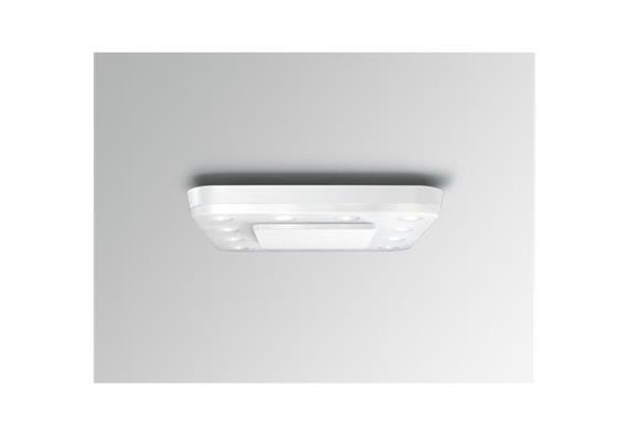 Decken-Anbauleuchte Square LED 18W weiss seidenmatt  230V/18W LED/3400K