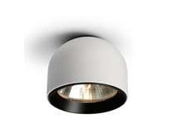 Decken - Aufbauleuchte WAN aluminium 230V / G9 / 1x 40W H=89mm D=115mm