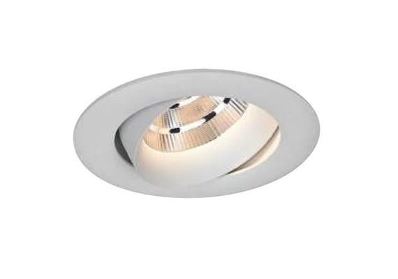 Decken-Einbaustrahler D=89 LED 9W weiss matt 500mA CRI90 703lm 3000°K DA=75 ET=64 / IP43