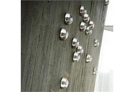 Decken- Wandleuchte 14s Mini Plate 1x1,5W LED  D=102mm T=51mm inkl. Konverter IP65