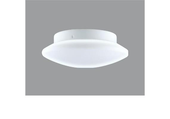 Decken- / Wandleuchte DANA 40 LED 18W weiss Kristallrand  LED 18W 3000°K H=76 D=400