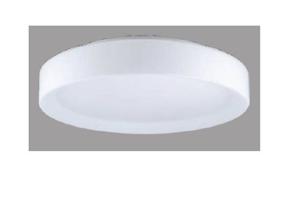 Decken- / Wandleuchte MEGA 40 LED 18W weiss matt  LED 18W 3000°K H=80 D=400