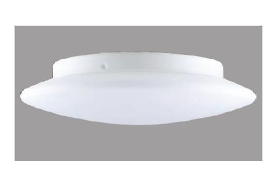 Decken- / Wandleuchte PICO 40 LED 18W weiss matt LED 18W 3000°K H=76 D=400