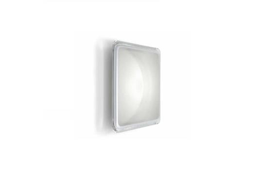 Decken-Wandleuchte17WLed weiss/ transparent  230V/3000K 1440lm B=23000 x 230 x H=40mm IP40