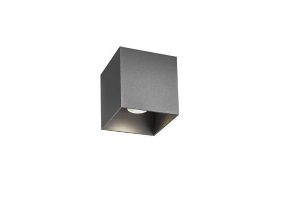 Deckenaufbauleuchte Box LED 8W 2700K weisse Textur  230V 480lm L=100x100x100 IP20