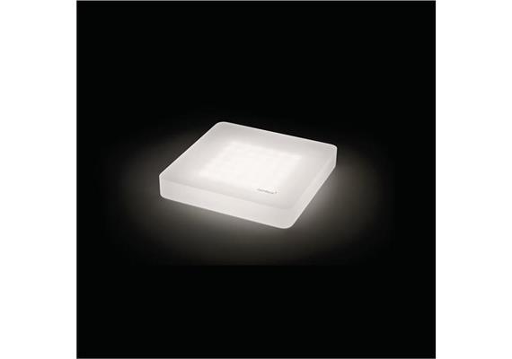 Deckenaufbauleuchte Cubic 36 LED 60° 6.8W 3000°K  24V/DC/36Led IP20 /122x122/H=20