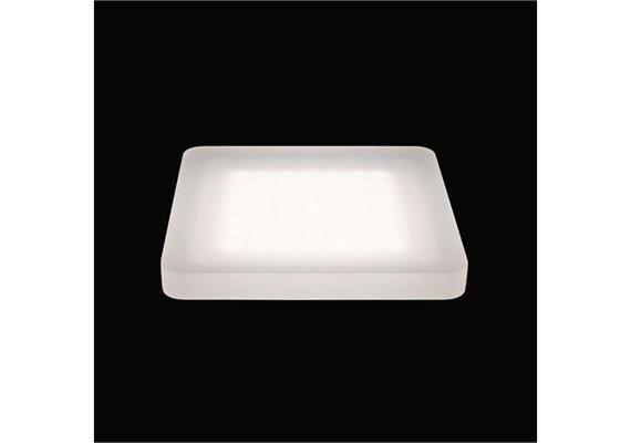 Deckenaufbauleuchte Cubic 49 LED 60° 9.8W 3000°K 24V/DC/49Led IP20 /180x180/H=20