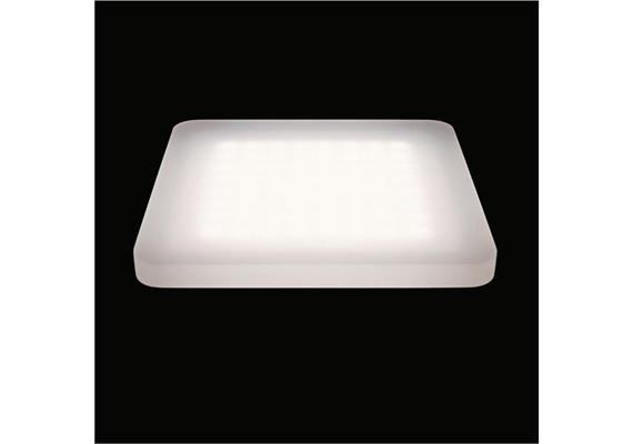 Deckenaufbauleuchte Cubic 64 LED 60° 10.5W 4000°K 24V/DC/64Led IP20 /240x240/H=20