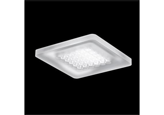 Deckenaufbauleuchte Modul Q36 LED 60° 7.1W Acryl 24V/DC/36Led 2700°K IP20 /122x122/H=10
