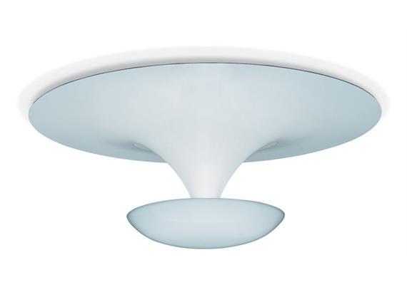 Deckenleuchte Funnel 50 LED 2700K weiss matt  230V/6x4,5W 350mA / IP20 2941lm D=50/H=13cm