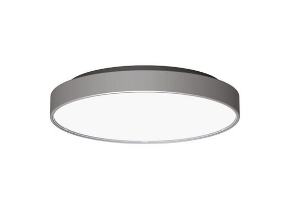 Deckenleuchte LED Core 29W 3000K silber opal 230V 2100lm CRI80 D=350 H=52 IP20