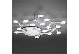 Deckenleuchte LED NET Circolare 43W weiss  230V/ 17LED D=650mm/H=70mm