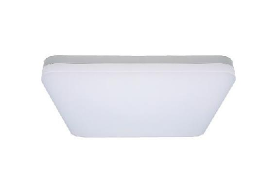 Deckenleuchte LED Slice 38W 3000K silbergrau 230V 2600lm CRI80 L=400x400 H=63mm IP20
